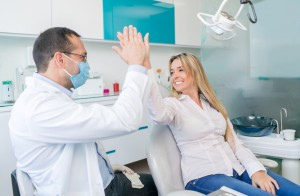 Your Orlando dentist professionally cleans your teeth and gums.