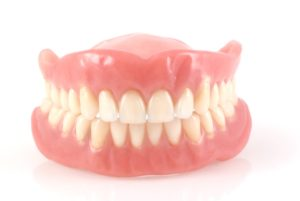 Full upper and lower denture